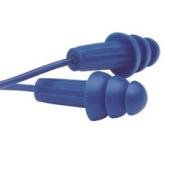 JACKSON SAFETY* H20 Беруши многоразового пользования, обнаруживаемые металлодетектором - 100 пар / Синий
