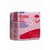 WYPALL* X80 Plus Протирочный материал - Сложенные в 1/4 / Красный