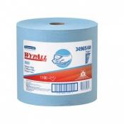 WYPALL* X60 Протирочные салфетки - Большой рулон / Синий