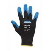 JACKSON SAFETY* G40 Перчатки с нитриловым покрытием - Индивидуальный дизайн для левой и правой руки / Синий/ Голубой /7