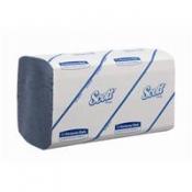 SCOTT® PERFORMANCE Полотенца для рук - Сложенные / Синий/ Голубой /Средний
