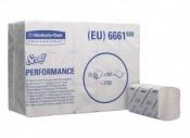 SCOTT® PERFORMANCE Полотенца для рук - Сложенные / Белый /Средний