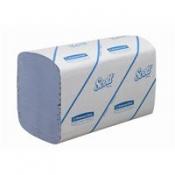 SCOTT® PERFORMANCE Полотенца для рук - Сложенные / Синий /Средний