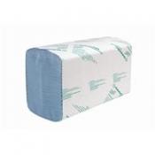 SCOTT® XTRA Полотенца для рук - Сложенные / Синий/ Голубой /Средний