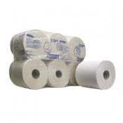 Протирочные салфетки - Рулон с центральной подачей / Белый