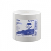 WYPALL* L20 Протирочные салфетки - Большой рулон / Белый