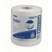 WYPALL* L20 Протирочные салфетки - Рулон с центральной подачей / Белый