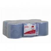 WYPALL* L10 Протирочные салфетки - Рулон с центральной подачей / Синий
