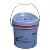 WETTASK* Диспенсер для протирочного материала в рулонах - Ведро / Синий
