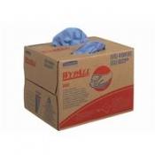 WYPALL* X80 Протирочный материал - Упаковка BRAG* Box / Голубой/ синий