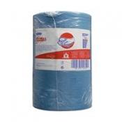 WYPALL* X80 Протирочный материал - Большой рулон / Голубой/ синий