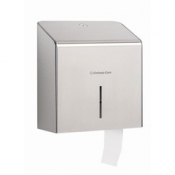 KIMBERLY-CLARK PROFESSIONAL* Диспенсер для туалетной бумаги в рулонах - Мини Jumbo / Серебристый