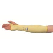 JACKSON SAFETY* G60 Нарукавники с защитой от порезов Уровня 2 - 45 см, с отверстием для большого пальца / Желтый
