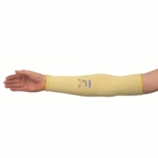 JACKSON SAFETY* G60 Нарукавники с защитой от порезов Уровня 2 - 45 см, без отверстия для большого пальца / Желтый