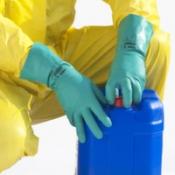 JACKSON SAFETY* G80 Перчатки для защиты от воздействия химических веществ - 33см, индивидуальный дизайн для левой и правой руки / Зеленый /9