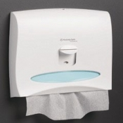KIMBERLY-CLARK PROFESSIONAL* Диспенсер для индивидуальных покрытий на сиденье унитаза - Белый