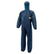 KLEENGUARD* A10 Комбинезон для защиты от легких загрязнений - С капюшоном / Синий/ Голубой /XXL
