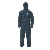 KLEENGUARD* A50 Воздухопроницаемый комбинезон для защиты от брызг жидкостей и твердых частиц - С капюшоном / Синий /XXXL