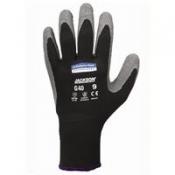 JACKSON SAFETY* G40 Перчатки с латексным покрытием - Индивидуальный дизайн для левой и правой руки / Серый и черный /9