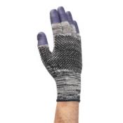 JACKSON SAFETY* G60 PURPLE NITRILE* Перчатки, стойкие к порезам (3 уровень) - Единый дизайн для обеих рук / Серый и фиолетовый /7