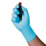 KIMTECH SCIENCE* Нитриловые перчатки - 24см, единый дизайн для обеих рук / Синий/ Голубой /S