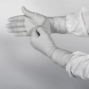 KIMTECH SCIENCE* STERLING* Нитриловые перчатки - 24см, единый дизайн для обеих рук / Серый /S