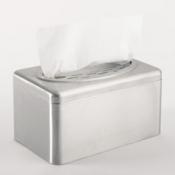 KIMBERLY-CLARK PROFESSIONAL* Диспенсер для полотенец для рук Нержавеющая сталь - Коробка Рор-Up / Серебряный /Маленький