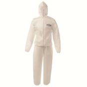 KLEENGUARD* A50 Воздухопроницаемые брюки для защиты от брызг жидкостей и твердых частиц - Белый /L