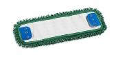 Моп Microriccio с держателями, микрофибра, 40х13, зеленый