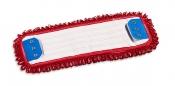 Моп Microriccio с держателями, микрофибра, 40х13, красный