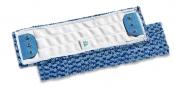 Моп Microsafe с держателями из микроволокна, 40х13, голубой